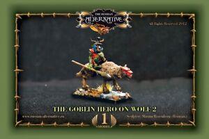 Goblin Hero on Wolf 2 METAL