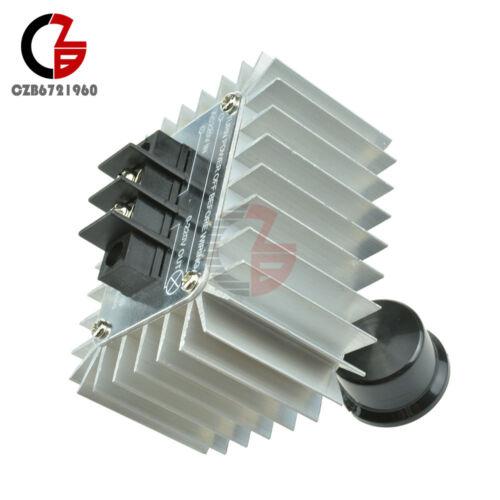 AC 220V 5000W SCR Voltage Regulator Speed Controller Dimmer Thermostat