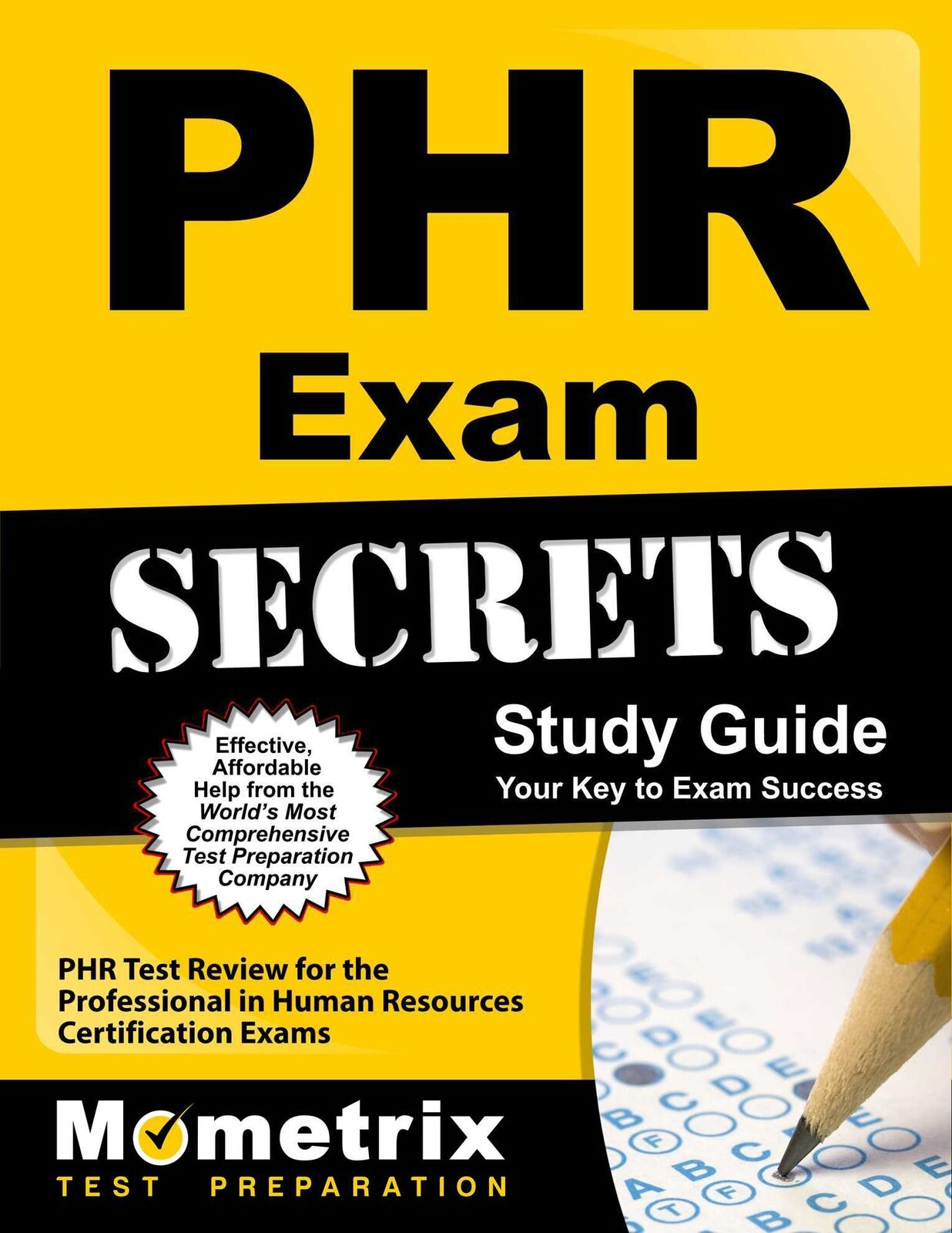 PHR Exam Secrets Study Guide : PHR Test Review for the Professional ...