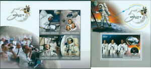 APOLLO-11-SPACE-50TH-ANNIVERSARY-MOON-LANDING-NASA-NEIL-ARMSTRONG-MNH-STAMPS-SET