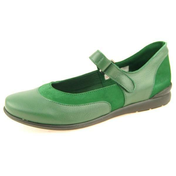 Arche  Bahiko  Mary Jane Flats, Women's shoes, Green  6US 37EU 4UK
