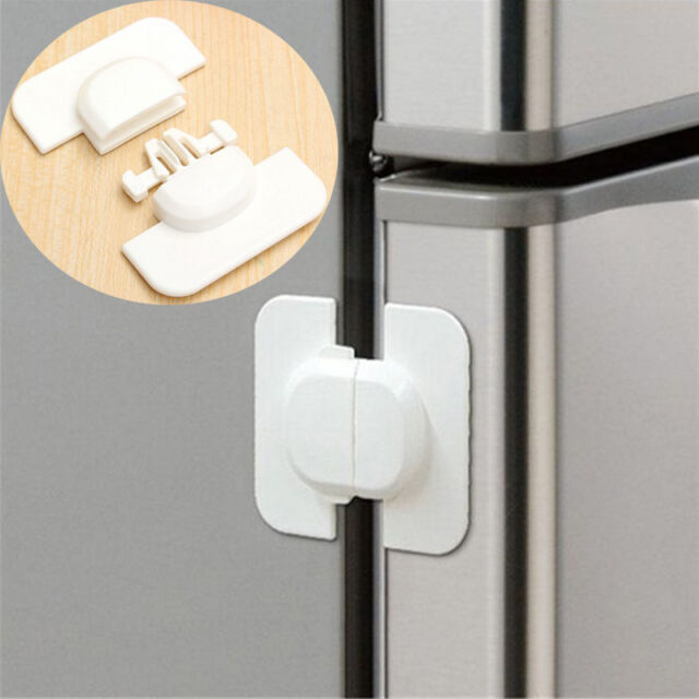 1Pc Refrigerator Fridge Freezer Door Lock Catch Toddler for Baby Kids Safety  AU