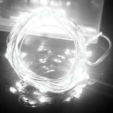 Philips 200ct Cool White LED Smooth Mini String Christmas Lights ...