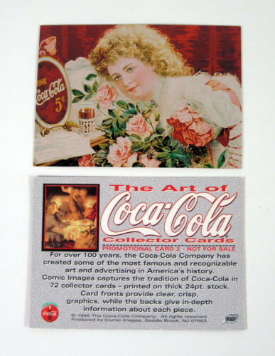 1999 Comic Images The Art of Coca-Cola Promo Card Nm//Mt 1