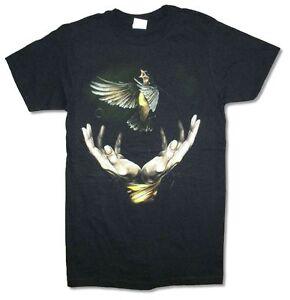 Imagine-Dragons-Bird-Hands-Tour-Mens-Black-T-Shirt-New-Official-Adult