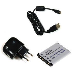 KAMERA AKKU-LADEGERÄT MICRO USB für Medion Life E44050 MD86930
