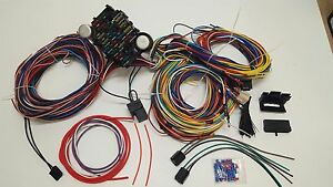 details about 1953 1954 1955 1956 ford international truck pickup complete wiring kit harness 56 t bird wiring wiring diagram