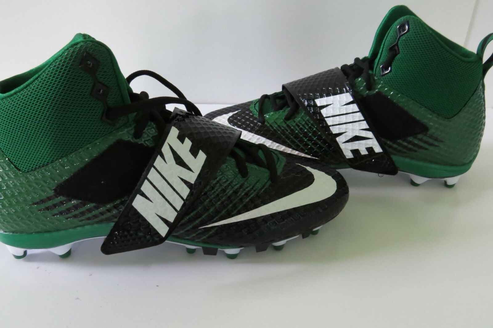 NIB NIKE Pro Lunarbeast Pro NIKE TD Size 10 Uomo Football Cleats Shoes Nero Green 70540c