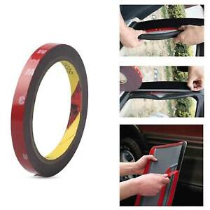 Auto-Truck-Car-Acrylic-Foam-Double-Sided-Attachment-Tape-Adhesive-3m-x-10mm
