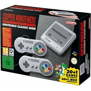 Super Nintendo Classic Mini SNES Videospielkonsole Spielekonsole 16BIT HDMI WOW!