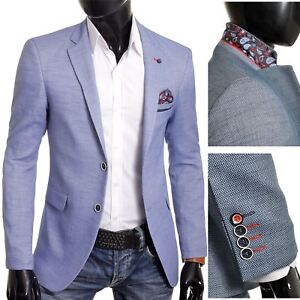 Mens-Blazer-Jacket-Casual-Formal-Spotted-Pattern-Paisley-Finish-UK-Size-Cotton