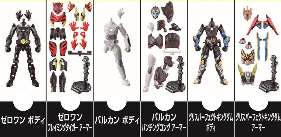 Japan Rare Kaessi Rider ZeroOne Sodo AI Wave2 3 Rider azione cifras Set MISB