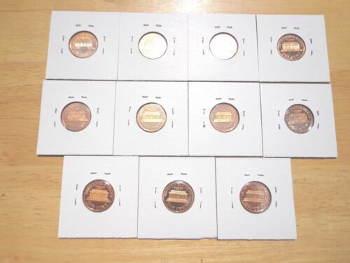 1970 1971 1972 1973-1977 1978 1979 S Type 1 /& 2 Lincoln Penny Proof 11 Coin Set