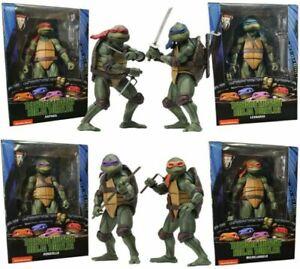 """NECA Teenage Mutant Ninja Turtles 1990 Movie Official 7"""" TMNT Action Figure US"""