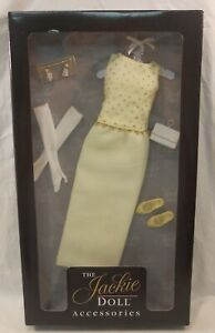 FRANKLIN-MINT-THE-JACKIE-DOLL-ACCESSORIES-DRESS-WHITE-HOUSE-GOWN-ENSEMBLE
