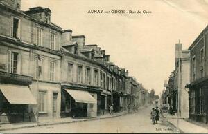 CPA-14-AUNAY-SUR-ODON-RUE-DE-CAEN