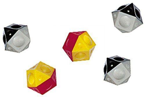 Pack of 5 Gelb Tipp-Kick TIPP-16053 Spare Balls 5 items Weiß Und Rot
