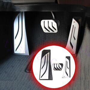 Car Foot Rest Gas Brake Pedal Pad Cover  For BMW Z4 X3 X4 5 6 7 Series