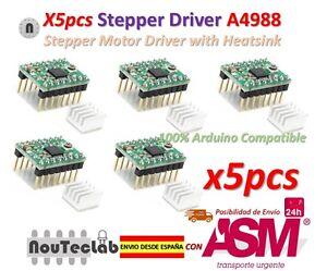 5pcs-Reprap-Stepper-Driver-A4988-Stepper-Motor-Driver-Module-with-Heatsink