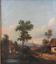 miniatuur 9 - Josef PFEIFFER Très Belle Huile Toile Paysage TYROL AUTRICHE 1862