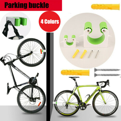 Road Bike Wall Mount Hook Indoor Bicycle Storage Parking Rack Bracket Holder