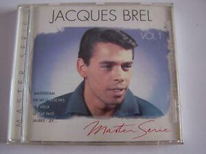 cd-JACQUES-BREL-MASTER-SERIE-VOL-1-ETAT-NEUF-ses-plus-grands-succes