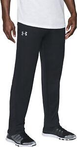 Under-Armour-Tech-Mens-Training-Pants-Black-Sweatpants-Gym-Sport-Workout-Joggers