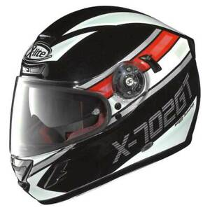 X-Lite Integral Motorrad Helm X-702 GT Chased n-com Größe XS