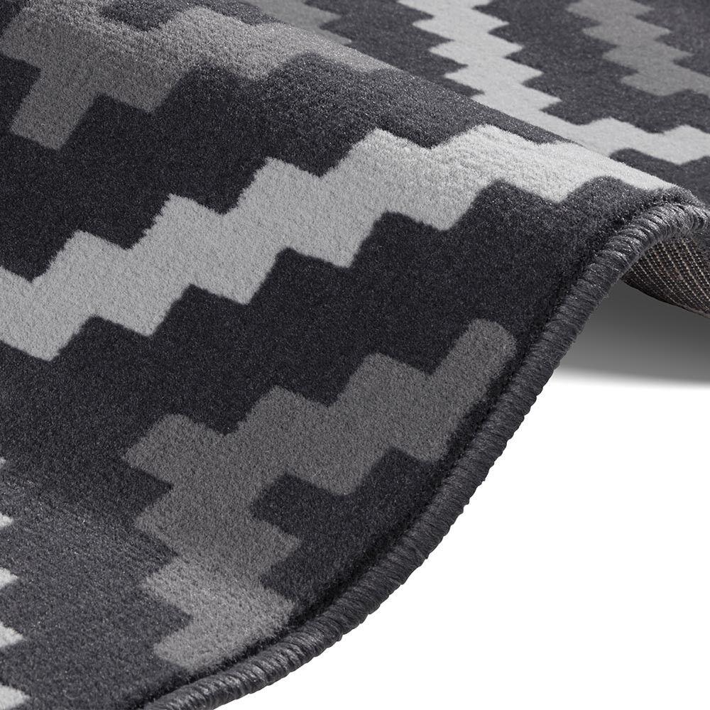 Designer In Velour Tappeto Crema Snug Crema Tappeto Nero 139640