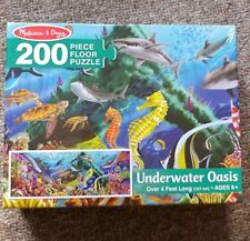 Melissa Doug Underwater Oasis Floor Puzzle Pc EBay - Melissa and doug floor puzzle