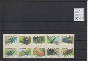 Nieuw-Zeeland postfris 1997 MNH 1628-1637 - Insekten / Insects (X161)