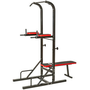 Station-de-musculation-exercices-banc-multifonction-dips-barre-traction-haltere