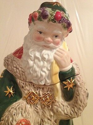 Waterford Holiday Heirlooms Letter To Santa Cookie Jar 12 Tall Used Ebay