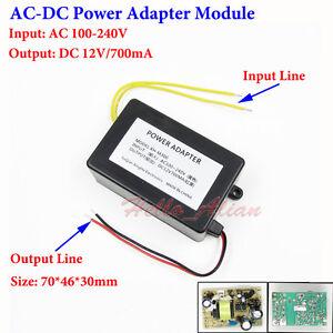 Details about AC-DC Buck Step Down Converter 120V 220V 230V to 12V 700mA  Power Adapter Module