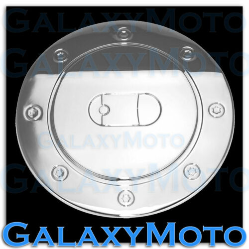 Triple Chrome Plated ABS Fuel Gas Cap Door Cover Bezel For 10-13 Ford Mustang