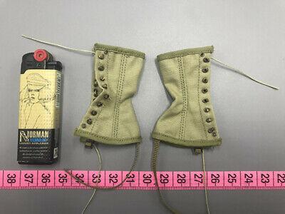 ALERT LINE MODLES 1:6TH SCALE WW2 U.S ARMY Combat Boots /& Leggings  AL100027