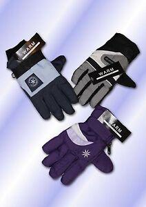 12 paar kinder thermo finger handschuhe skihandschuhe. Black Bedroom Furniture Sets. Home Design Ideas