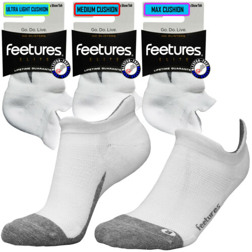 Nst Running Ankle Socks Feetures Free Gym Blister Sport Premium Bianco Elite 5IxOqwS
