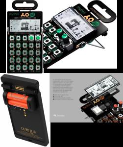 Pocket Operator PO 12 Rhythm 16 Step Pattern Sequencer SyntheGrößer - schwarz Grün