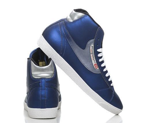 Diesel Dragon Herren NEU High Sneaker Blau und Grau 00YG02 NEU Herren mit Karton 527950