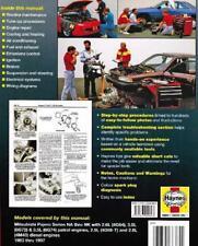mitsubishi pajero nj 1993 1996 repair service manual