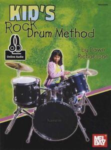 Grosses Soldes Kid's Rock Drum Method Music Book With Audio Apprendre à Jouer Méthode-afficher Le Titre D'origine Amener Plus De Commodité Aux Gens Dans Leur Vie Quotidienne