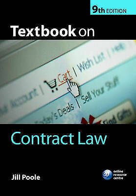 Textbook on Contract Law by Jill Poole (Paperback, 2008)