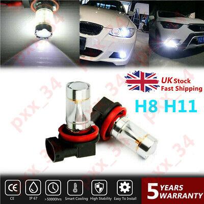 Vauxhall Insignia 55w Super White Xenon HID Low Dip Beam Headlight Bulbs Pair