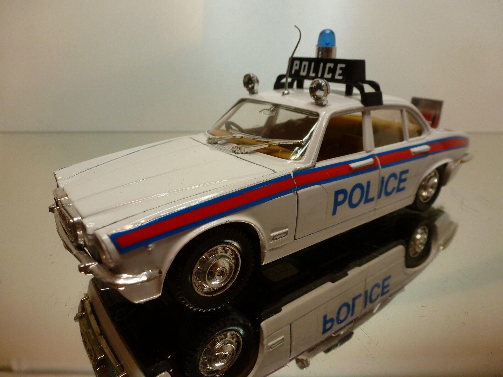 Jaguar xj 4.2 saloon polizei polistil asus - weiße 24 selten - sehr guten zustand