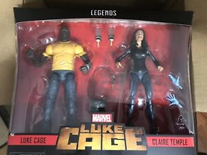 Marvel-Legends-LUKE-CAGE-amp-CLAIRE-TEMPLE-6-034-Figure-2-Pack-Exclusive-In-Stock