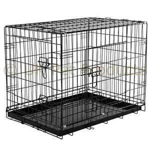 Image Is Loading Dog Cage Crates Puppy Small Medium Large Extra