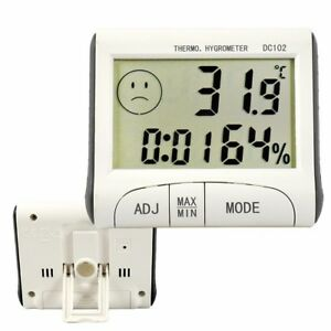 2018-Indoor-Outdoor-Digital-LCD-Thermometer-Hygrometer-Max-Min-Temperature-Humid