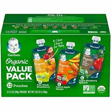 20-Pack 3.5OZ Refillable Reusable Baby Food Pouch Food Drinks BPA FREE