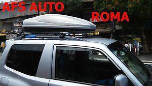 BOX-BAULE-AUTO-PORTATUTTO-ABSOLUTE-400-BARRE-MITSUBISHI-PAJERO-SPORT-ANNO-2004
